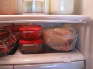 Aurelio in the fridge
