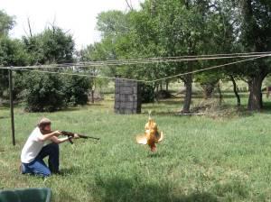 Thomas taking aim